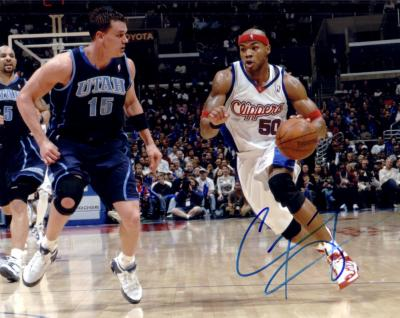 Corey Maggette autographed 8x10 Los Angeles Clippers photo