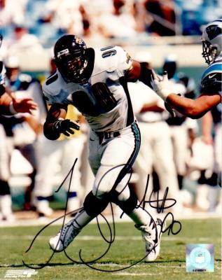Tony Brackens autographed Jacksonville Jaguars 8x10 photo