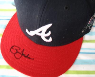 Brian Jordan autographed Atlanta Braves 1999 All-Star game model cap
