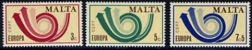 Europa 3v; Year: 1973