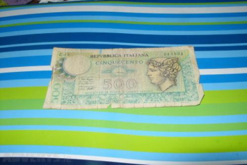 Italy 1990-500 lire-1966-75