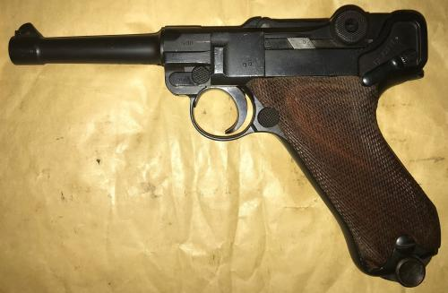 WW1 German Luger