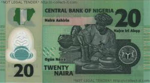 Banknotes of Nigeria; 20 Naira