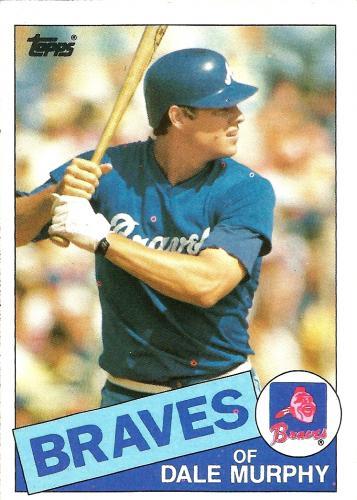 1985 Topps #320 ~ Dale Murphy *FREE SHIPPING*