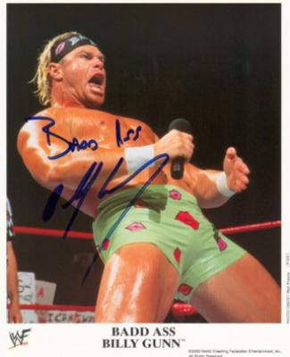 Billy Gunn (WWF/WWE) autographed 8x10 wrestling photo