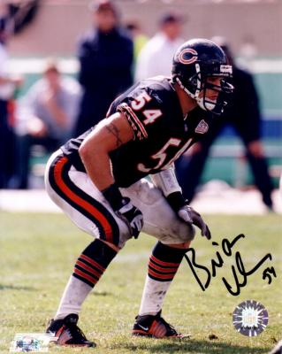 Brian Urlacher autographed 8x10 Chicago Bears photo