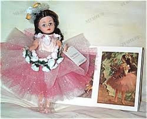 Dolls; Madame Alexander Degas Ballerina Cissette Doll 2000