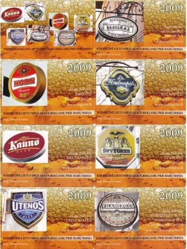 Beer pocket calendar