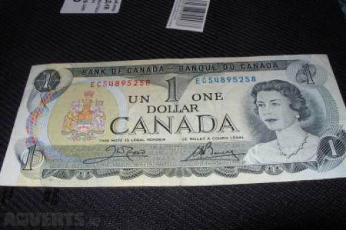 Canada 1 dollar-1973