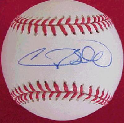 Gary Sheffield autographed NL baseball