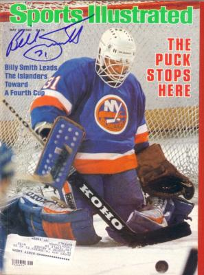 Billy Smith autographed New York Islanders 1983 Sports Illustrated