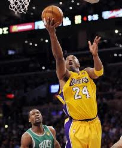 Los Angeles Lakers guard Kobe Bryant