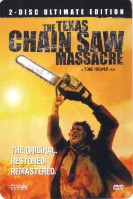 Texas Chain Saw Massacre DVD 4x6 promo card