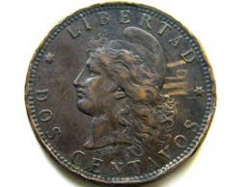 Coins; 1893 ARGENTINA COIN