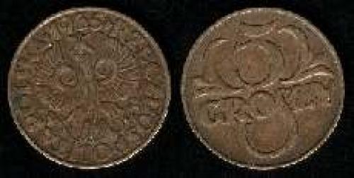 5 groszy 1925-1939 (km y#10a)