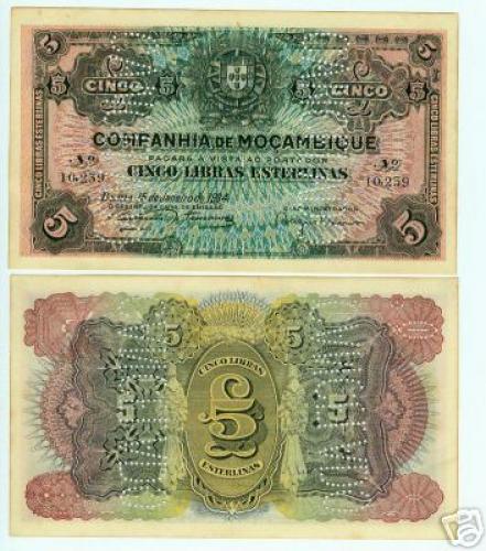 5 Libras 1934