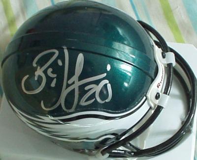 Brian Dawkins autographed Philadelphia Eagles mini helmet