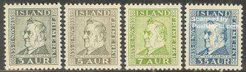 Matthias Jochumsson 4v; Year: 1935