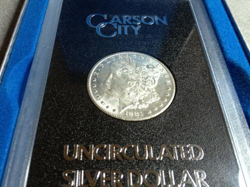 1881 Carson City Uncirculated