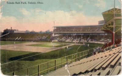 Toledo Ball Park (Swayne Field) 1909-1912 postcard