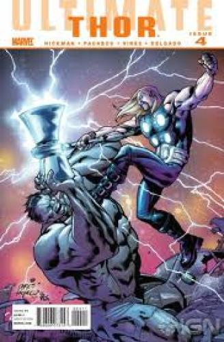 Comics; Ultimate Comics Thor #4 Cover