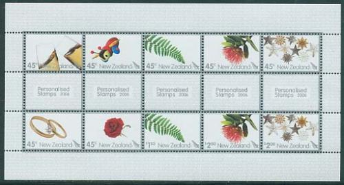 Personalised stamps 10v m/s