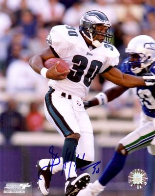 Brian Mitchell autographed 8x10 Philadelphia Eagles photo