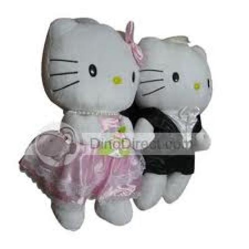 Hello Kitty; Lovely Wedding couple Toys