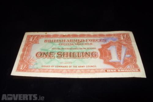 British Army-1 shilling-1946