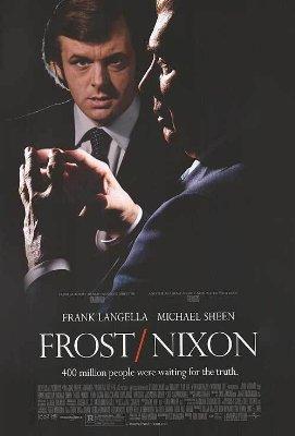 Frost Nixon mini movie poster MINT