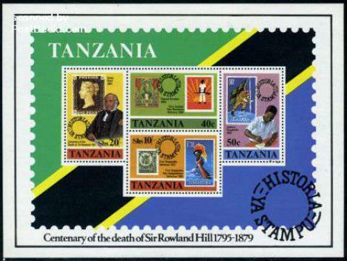 Sir Rowland Hill s/s; Year: 1980