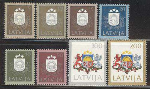 Definitives 8v; Year: 1991