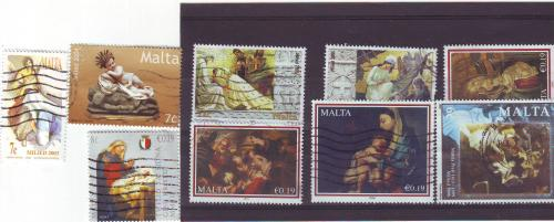 Christmas Stamps from Malta
