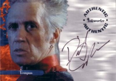 David Carradine certified autograph Charmed card