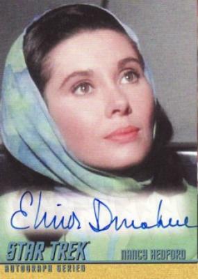 Elinor Donahue Star Trek certified autograph card