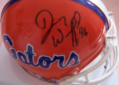 Danny Wuerffel autographed Florida Gators mini helmet