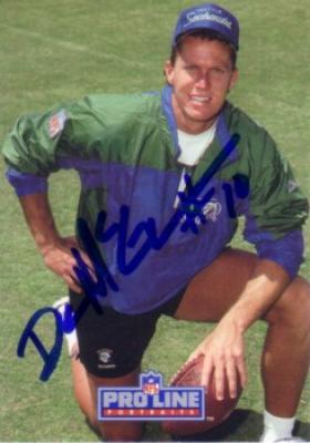 Dan McGwire autographed 1991 Pro Line Rookie Card