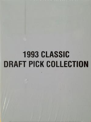 1993 Classic 4-Sport 325 card factory sealed set (Jerome Bettis Alex Rodriguez Chris Webber)