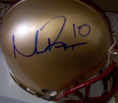 Matt Ryan autographed Boston College mini helmet