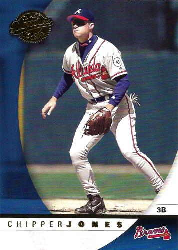 2001 Donruss Class of 2001 #20 ~ Chipper Jones