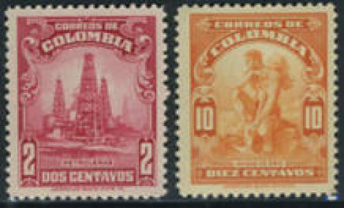 Definitives 2v; Year: 1935