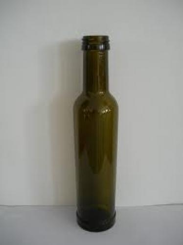 Bottle and Cans; W0103 250ml Spain olive oil bottle (antique green)