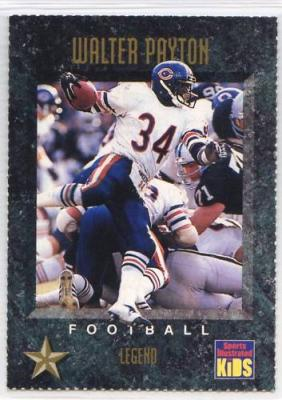 Walter Payton Chicago Bears 1994 Sports Illustrated for Kids card #321
