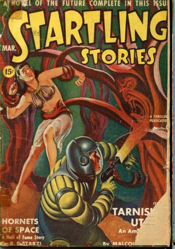 SF Pulps Startling Stories 2 issues 1942