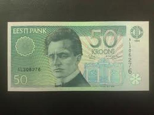 Banknotes; Estonia; 50 krooni; Year issue: 1994