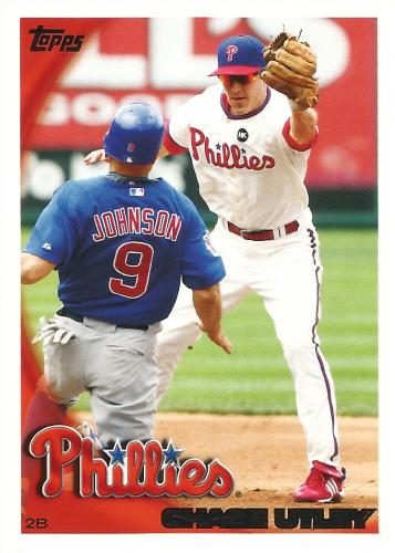 2010 Topps #300A ~ Chase Utley