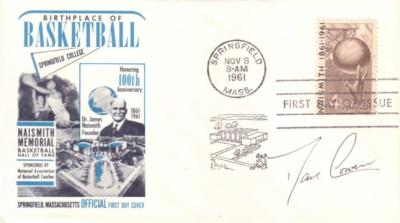 Dave Cowens (Celtics) autographed Basketball Hall of Fame First Day Cover