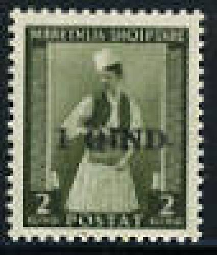 Overprint 1v; Year: 1942
