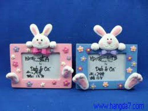 Crafts; Polymer Clay Handmade Crafts Lovely Photo Frame