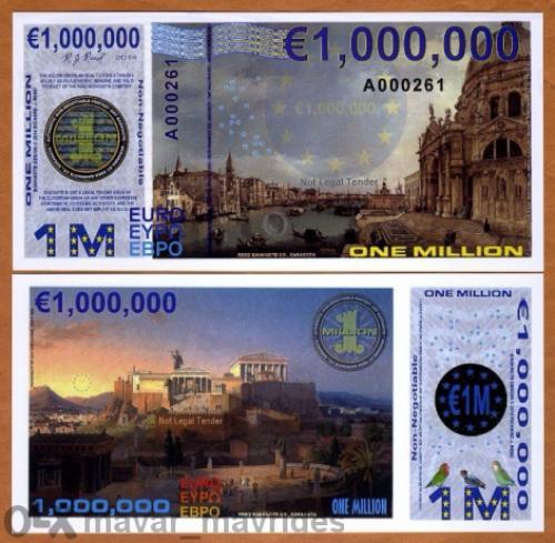 Europe 1000000 Euro